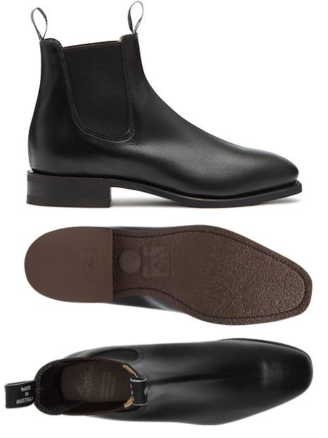 Comfort boot views