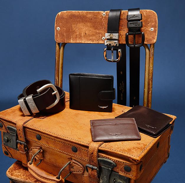 R.M.Williams Christmas Mens Belt & Wallet Bundle Offer