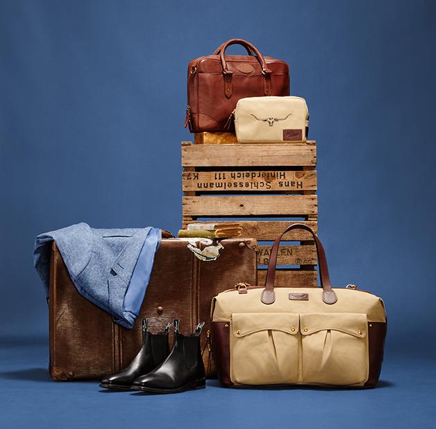 R.M.Williams Christmas Mens Bag & Washbag Bundle Offer