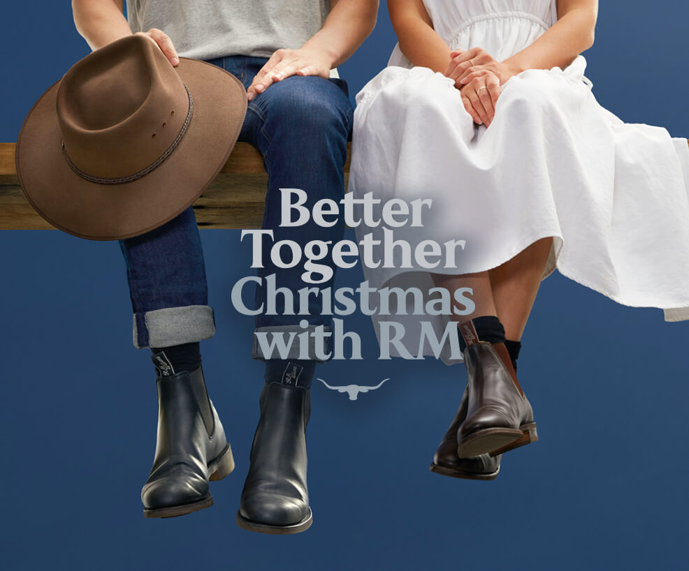 Better Together - Shopping with R.M.Williams
