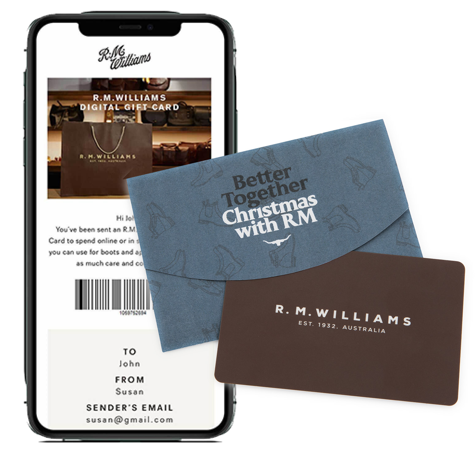 R.M.Williams Christmas Shop Gift Cards